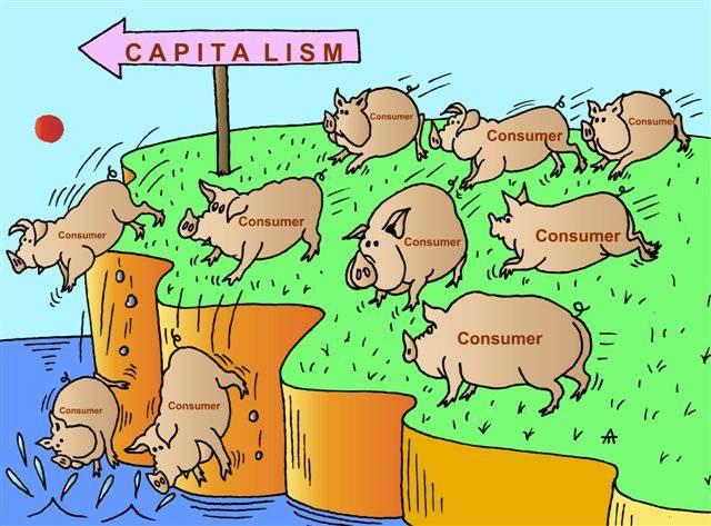 Уберите ложь и капитализм развалится 02