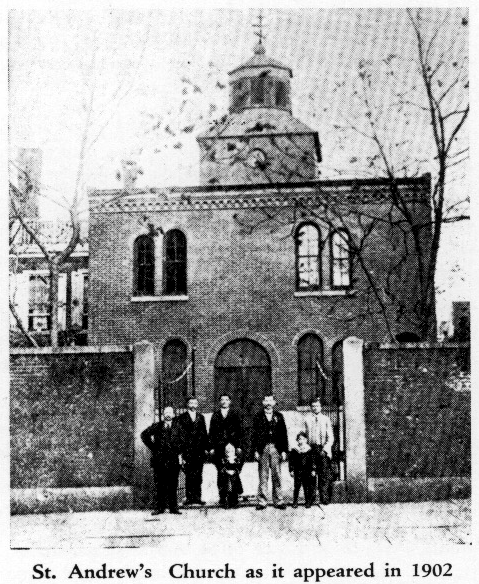 Св Андреевский храм 1902