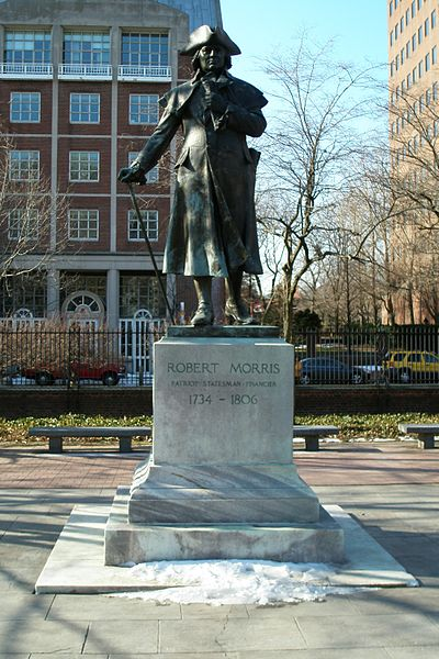 400px-Robert_Morris_statue