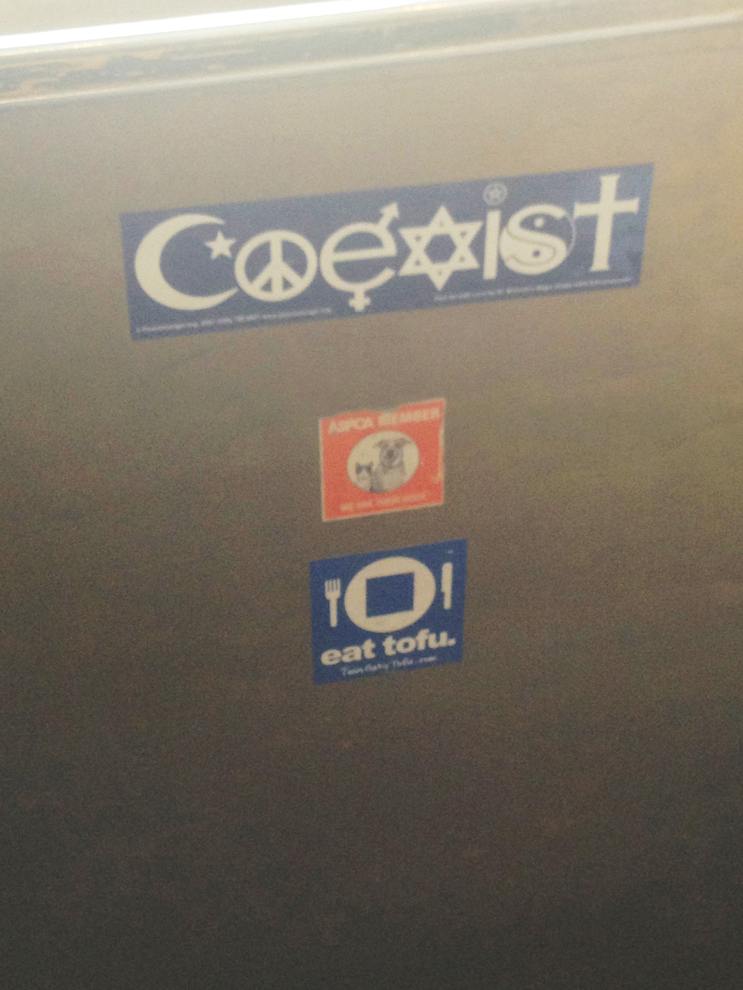 Coexist in Cafe