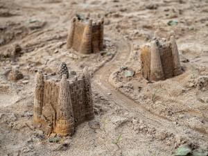 песчаные замки