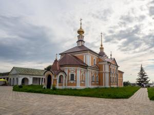 Крестоникольская церковь, Суздаль