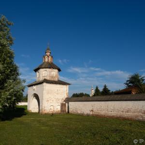 в Александровском монастыре Суздаля
