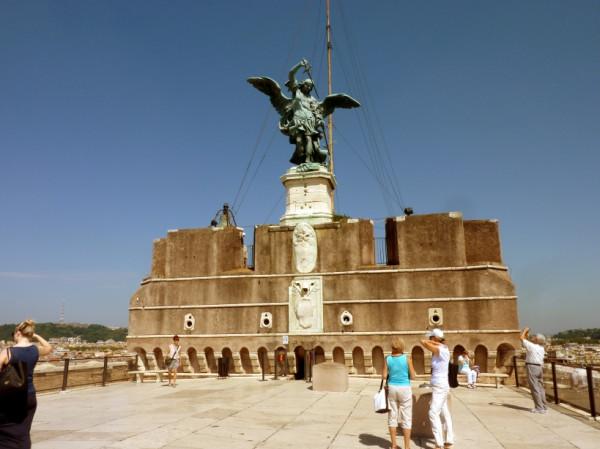 Castel Sant'Angelo -Standbeeld aartsengel Michael