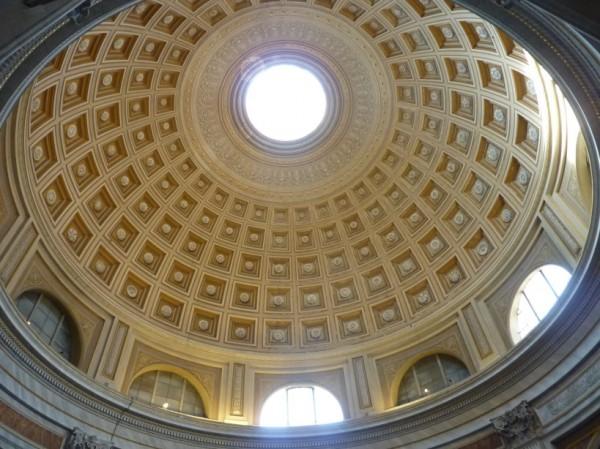 Sala Rotonda - Koepel van Michelangelo