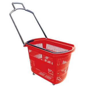 тележка для супермаркета на колёсиках