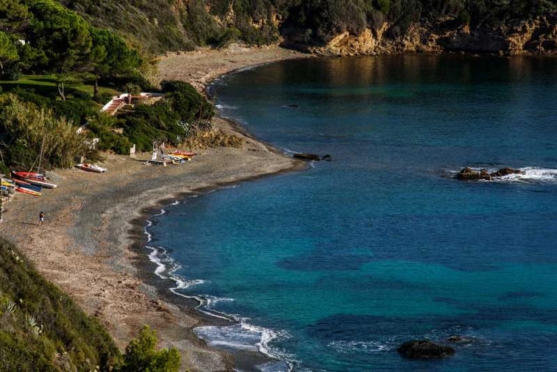 пляж Норси на острове Эльба, Тоскана,Италия