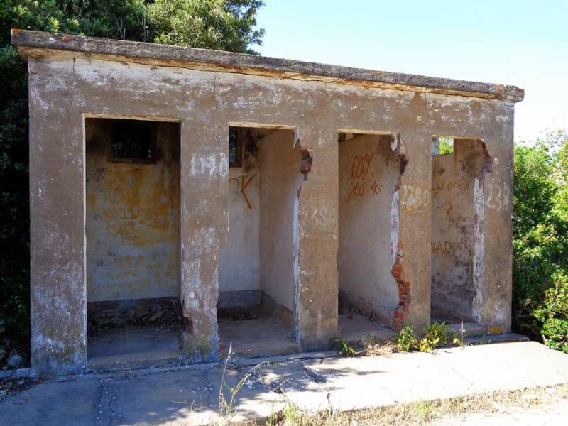 немецкие туалеты на острове Эльба