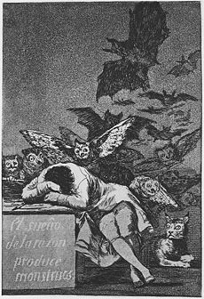 230px-Goya_-_Caprichos_43_-_Sleep_of_Reason2