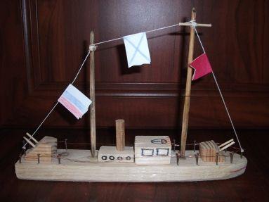Как сделать корабль деревянный