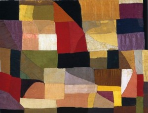 baby quilt 1911 (for her son charles)