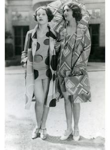 models wearing Sonia's beachwear, 1928