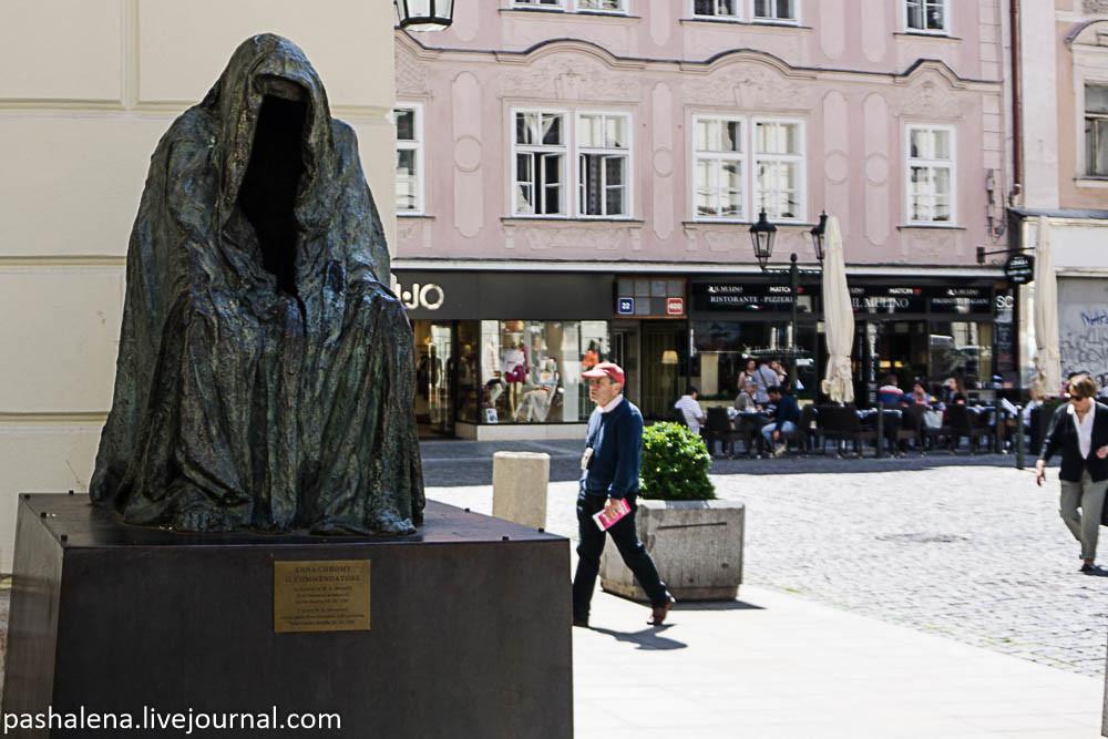 Скульптура Командора в Праге
