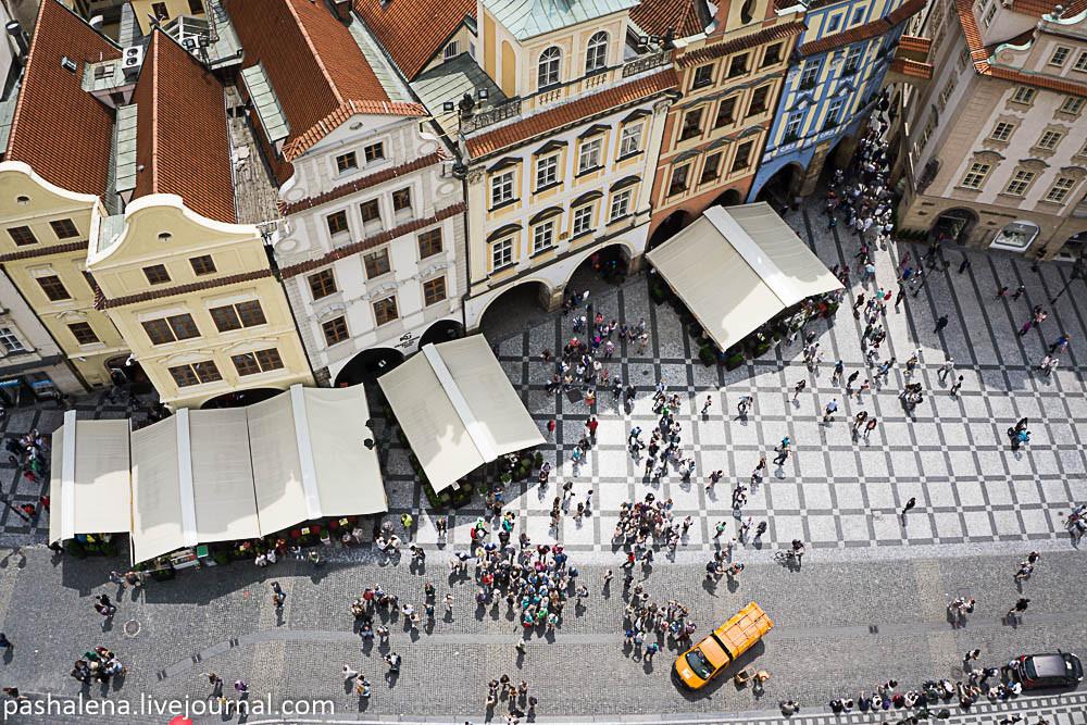 Площадь у ратуши Прага