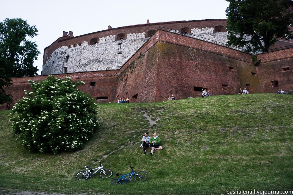Замок в Кракове