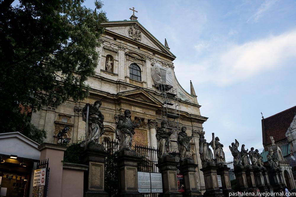 Храмы Кракова