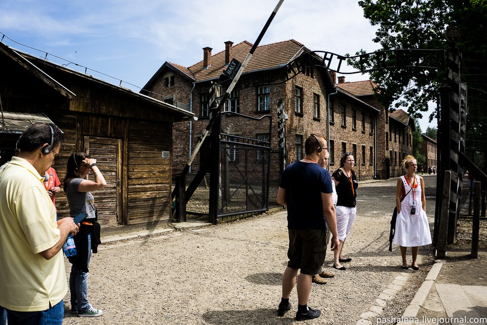 Вход в Аушвиц