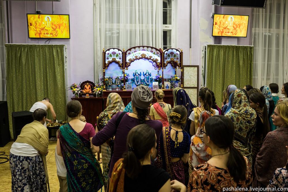 храм кришнаитов