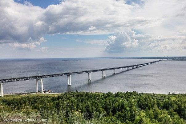 мост в Ульяновске