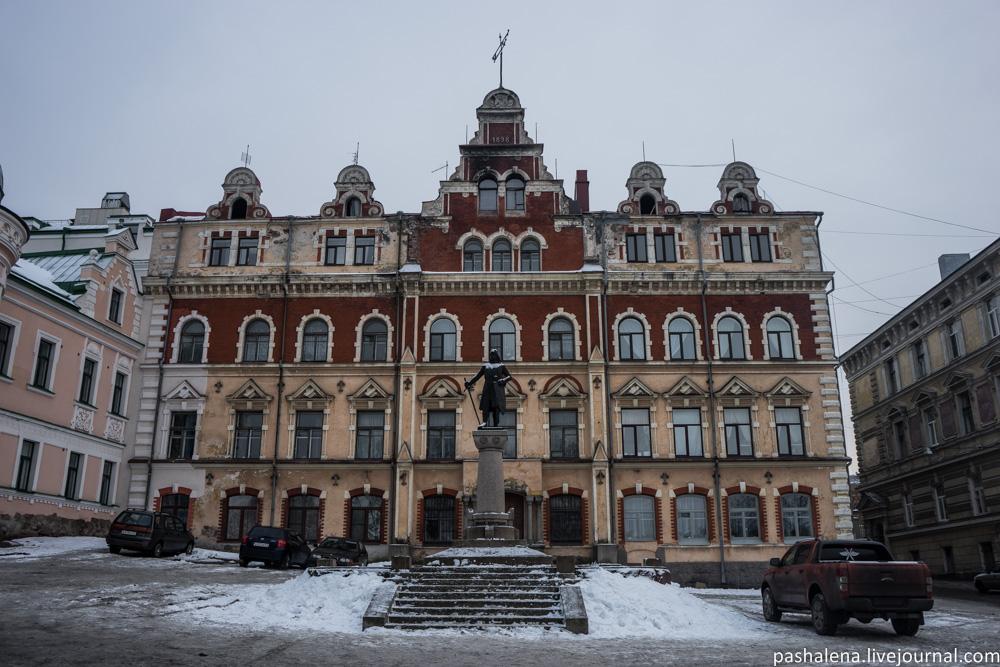Выборг ратуша