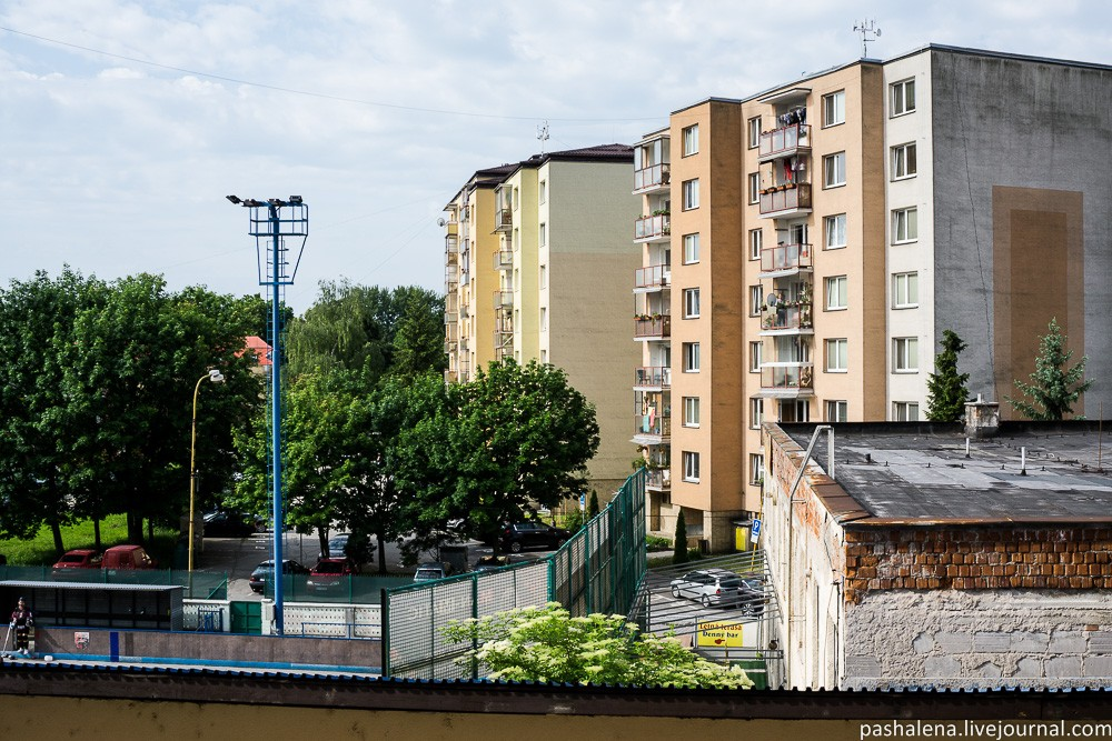 Городок в Словакии