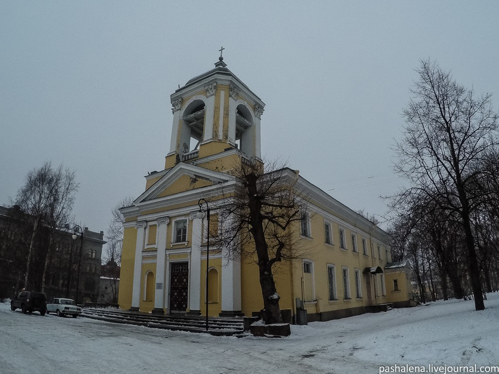 Церковь в Выборге