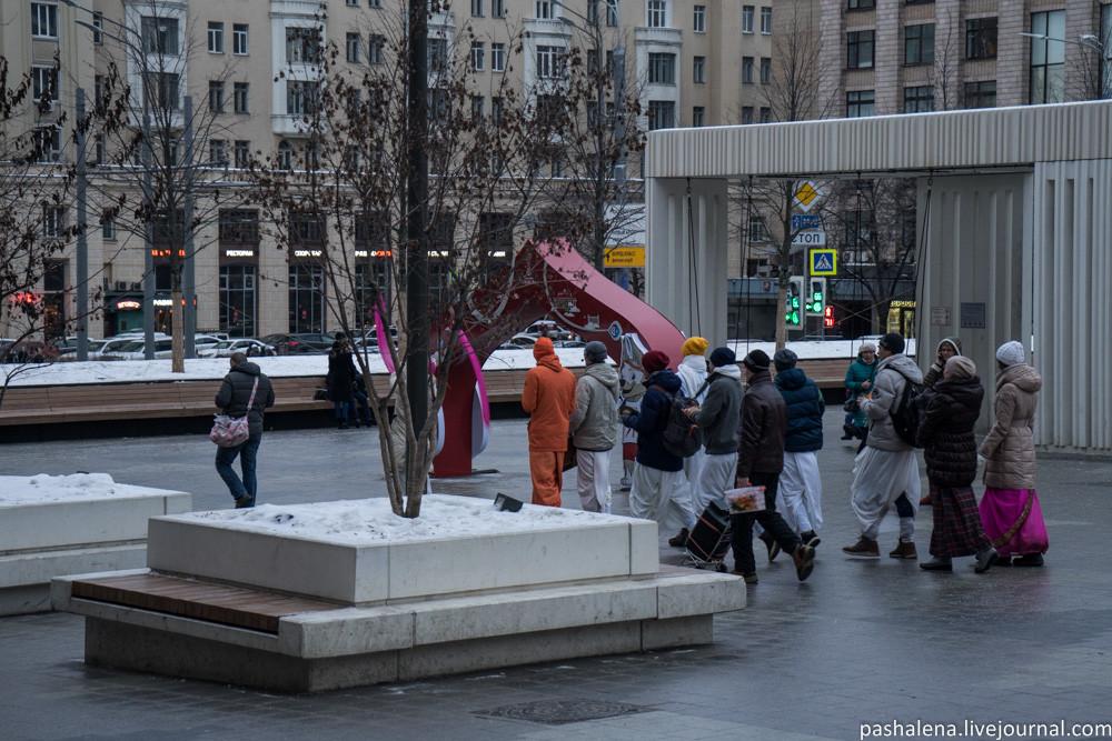 Кришнаиты в Москве