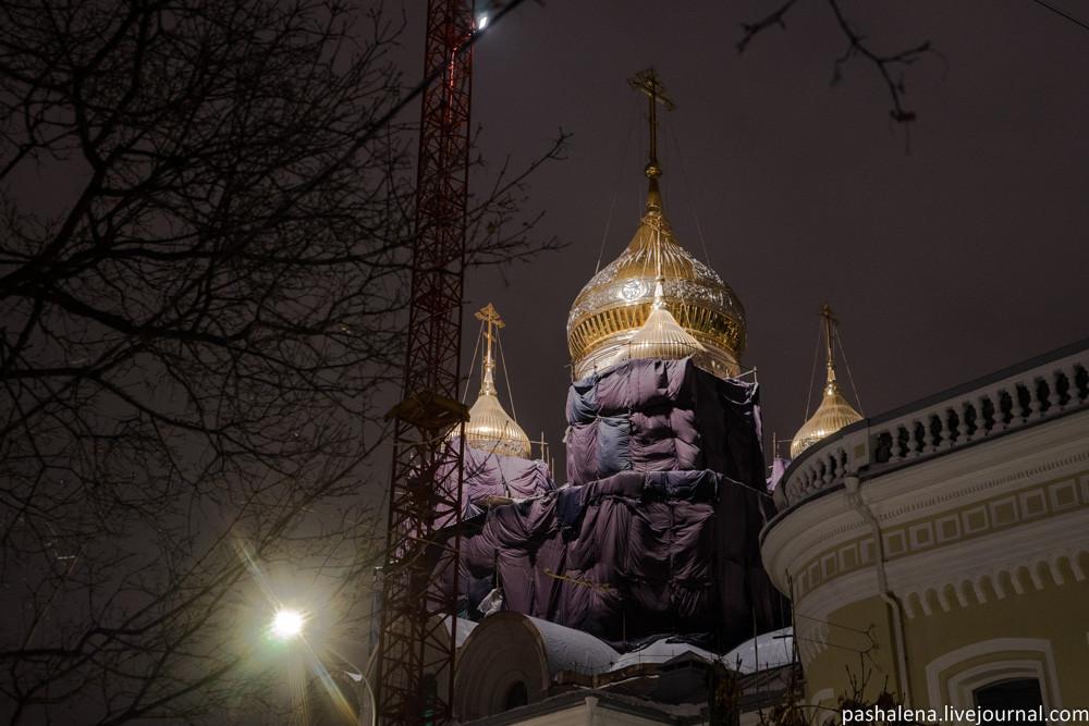 Новый храм в Москве
