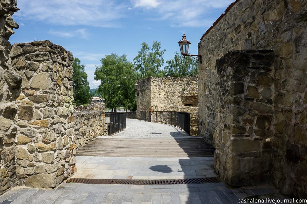 Крепостная стена в Бардеёве