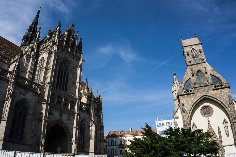Готический собор Кошице