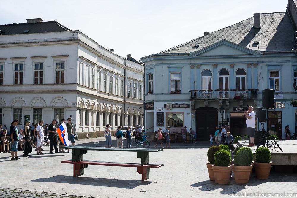 Митинг в Кошице