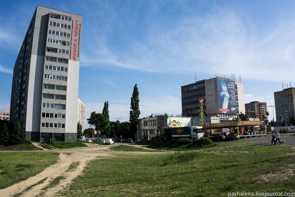 Советская архитектура в Словакии