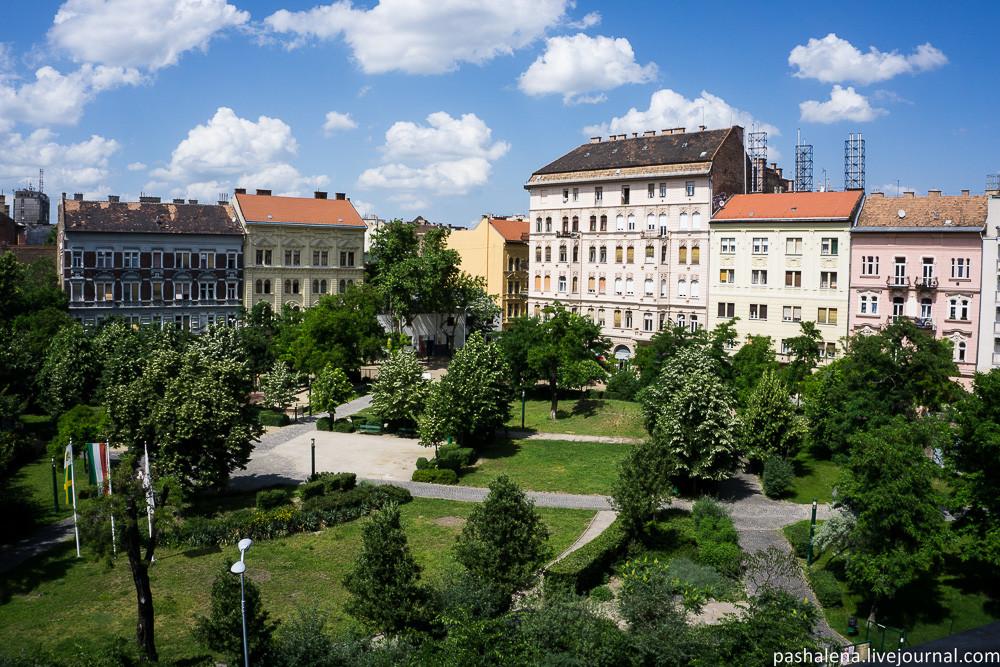Парки Будапешта