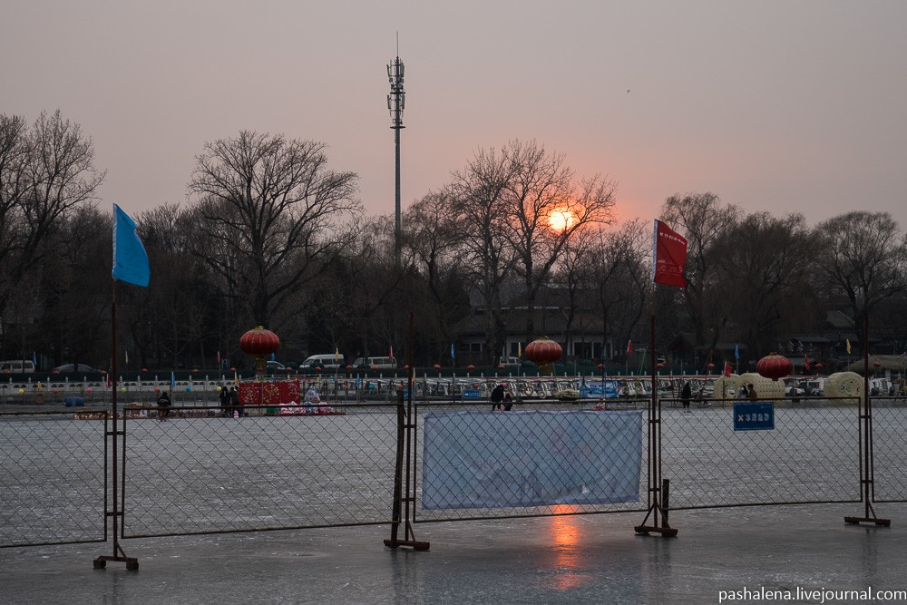 Зима в Пекине