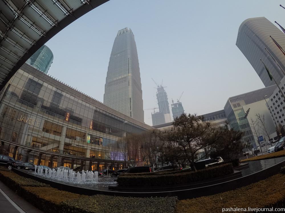 Небоскрёбы в Китае