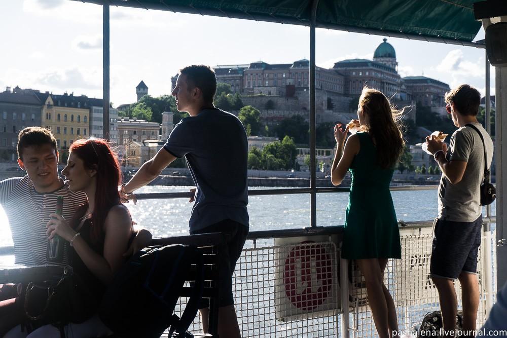Речная прогулка в Будапеште