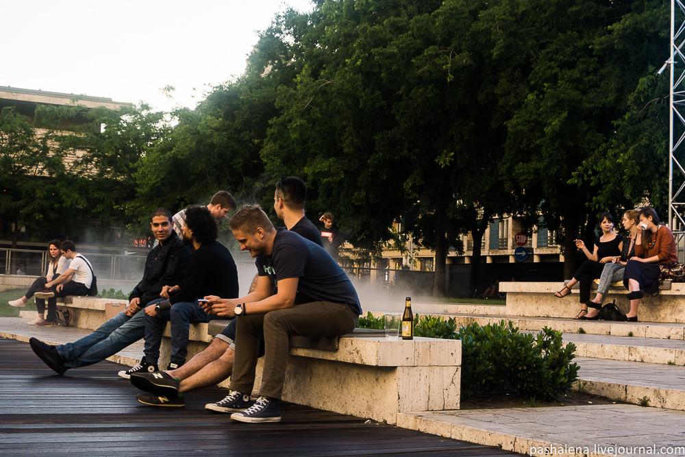 Молодёжь Будапешта