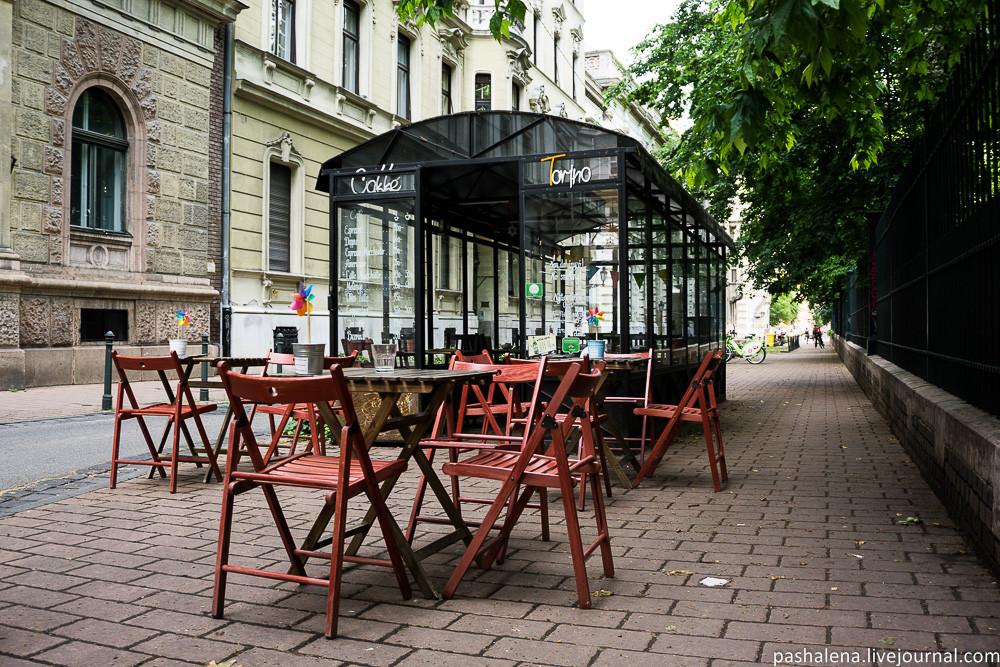 Кафе в Будапеште