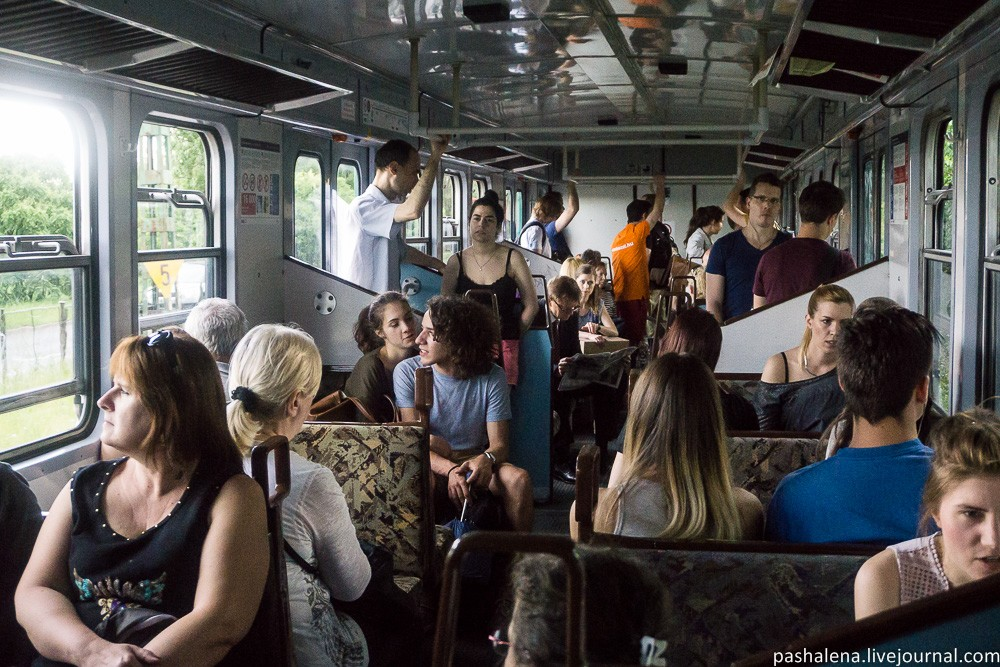 Поезда Венгрии
