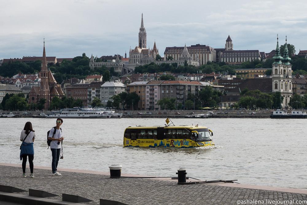 Автобус-амфибия Будапешт