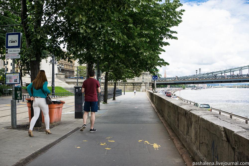 Велодорожка Будапешт