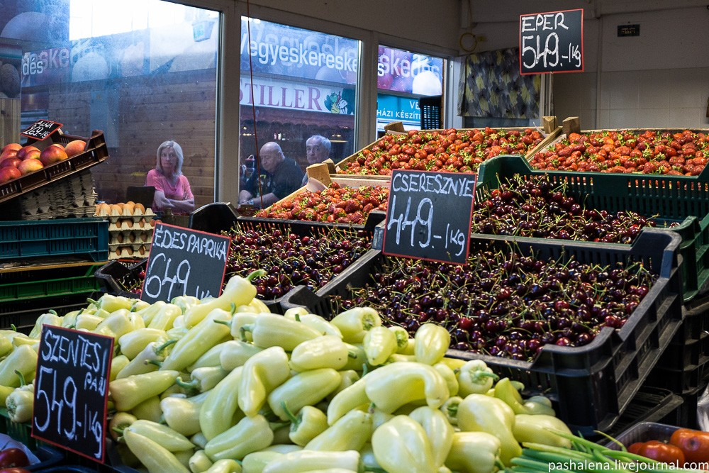 Рынки Будапешта