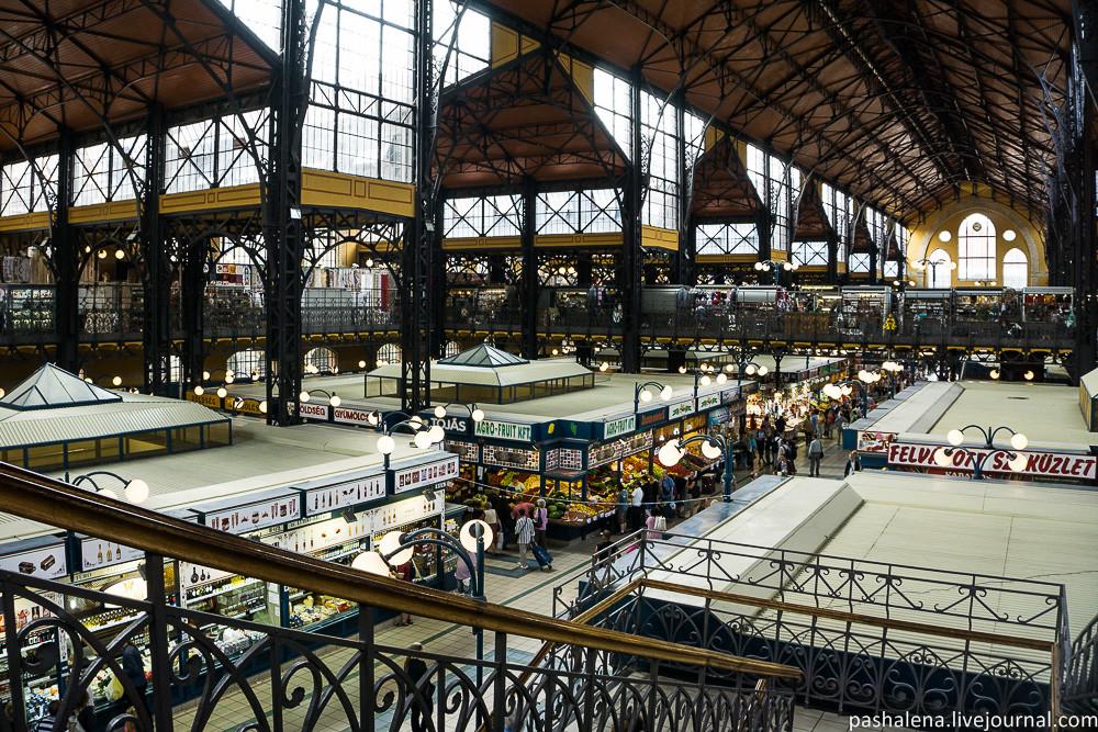 Главный рынок Будапешта