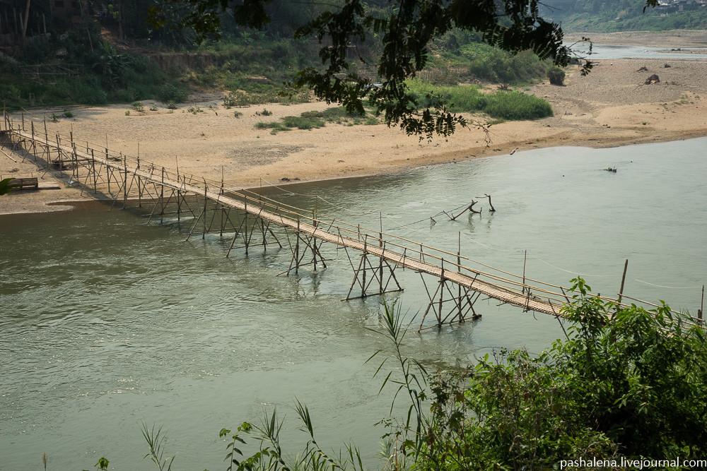 мост в Лаосе