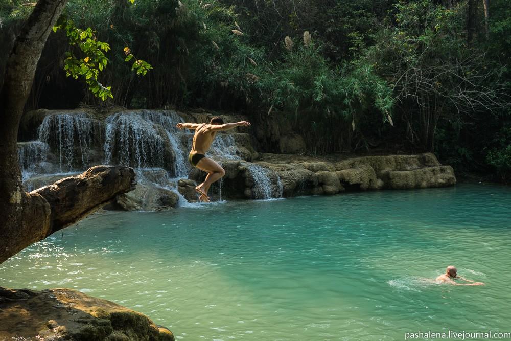 водопад Луангпрабанг