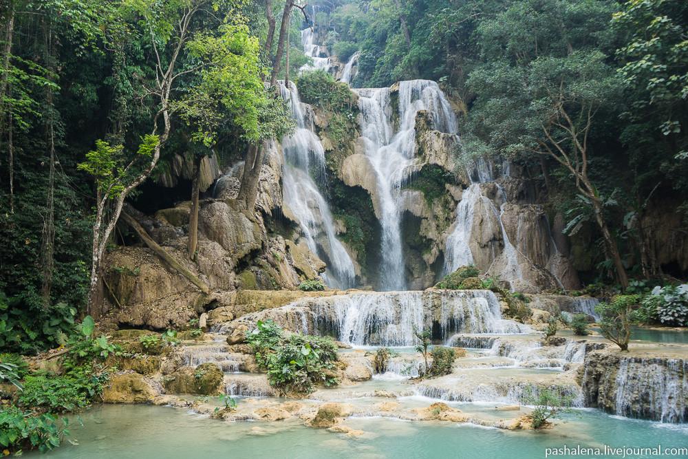 водопад Луанг Прабанг
