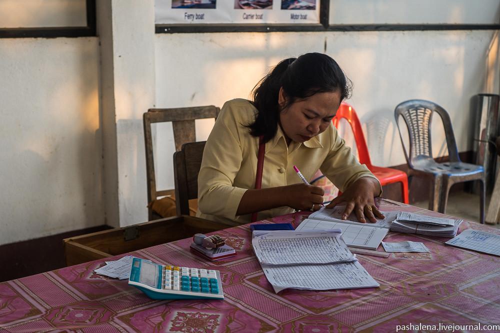 Жительница Лаоса