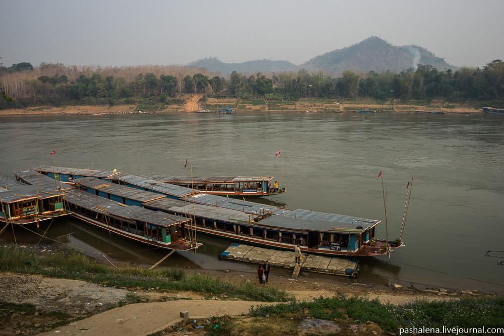 Лодки по Меконгу
