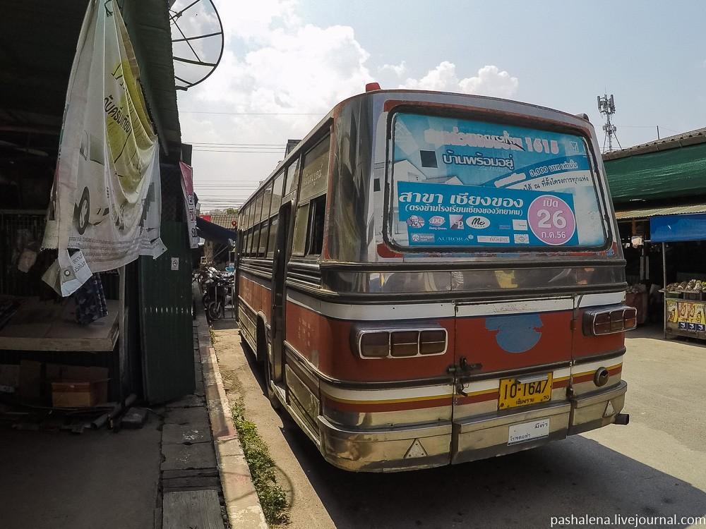 Автобус в Таиланде