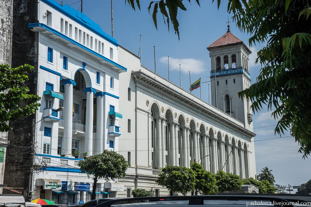 Порт Янгон